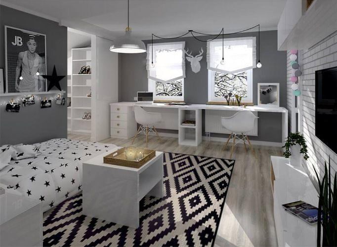 Wymarzony pokój dla nastolatki - w połączeniu z garderobą! - Lovingit.pl