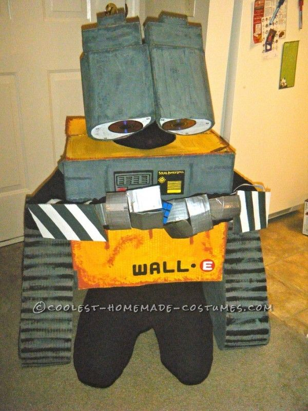 Coolest Homemade Wall-E and Eve Couple Costumes ...This website is the Pinterest of costumes