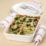 Lasagne con coste, patate e gorgonzola