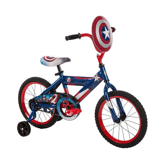 "Boys 16 inch Huffy Captain America Bike - Huffy - Toys ""R"" Us"