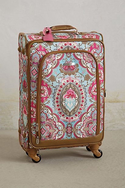 Journee Softshell Suitcase #anthropologie (Easier to spot @ baggage claim haha)