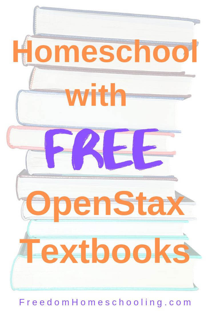 FREE homeschool textbooks! homeschool free textbooks