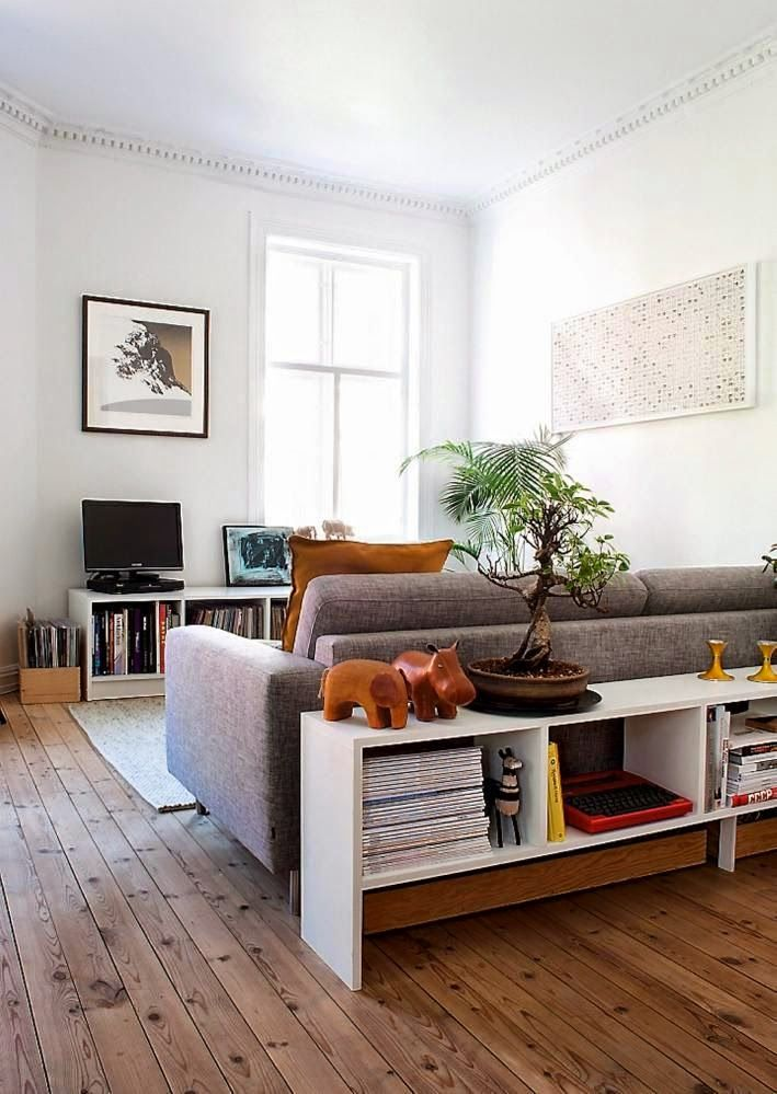 Hackers Help: Suggest a behind Sofa Room Divider and Bookcase