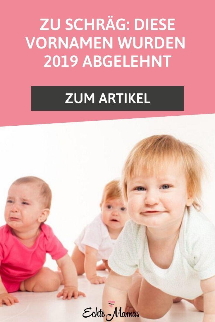Zu Schrag Diese Vornamen Wurden 2019 Abgelehnt Vornamen Babynamen Und Jungen Namen