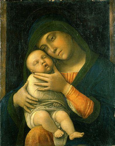 The Virgin and Child ANDREA MANTEGNA (Isola di Carturo, 1431 – Mantova, 13 settembre 1506)   #TuscanyAgriturismoGiratola