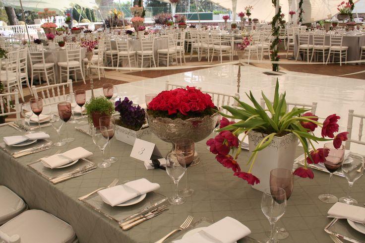 Summer Garden Wedding with Spring Flowers