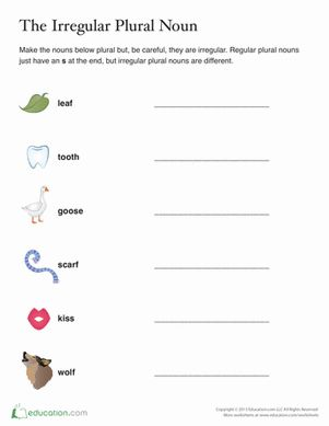 The 25+ best Plural words ideas on Pinterest | Singular to plural ...