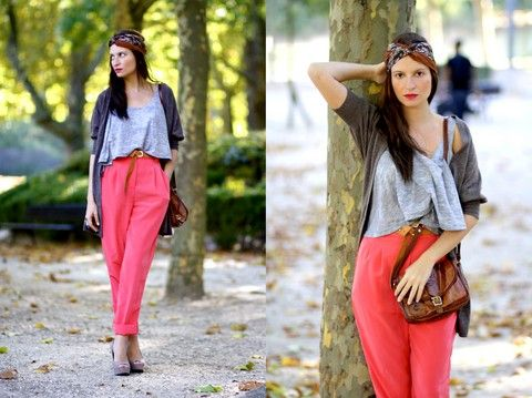 H Top, American Apparel Pant, New Look Shoes