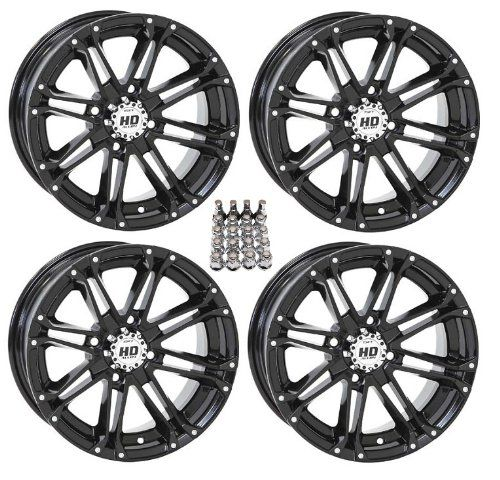 "STI HD3 ATV Wheels/Rims Black 12"" Honda Foreman Rancher SRA Solid Axle (4) - http://www.caraccessoriesonlinemarket.com/sti-hd3-atv-wheelsrims-black-12-honda-foreman-rancher-sra-solid-axle-4/  #Axle, #Black, #Foreman, #Honda, #Rancher, #Solid, #WheelsRims #ATV, #ATV-Wheels, #Tires-Wheels"