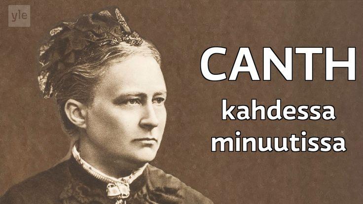 Minna Canth oli suomalainen kirjailija ja yhteiskunnallinen vaikuttaja. Canth taisteli tasa-arvon ja oikeudenmukaisuuden puolesta.