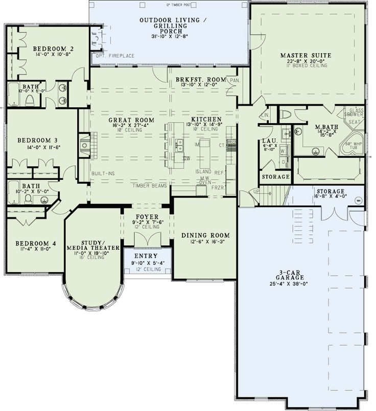 51 best House Plans images on Pinterest | Floor plans, Dream house ...