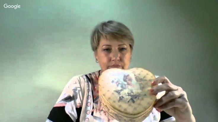 10 сессия Университета Декупажа. Седьмой день. Юлия Вал