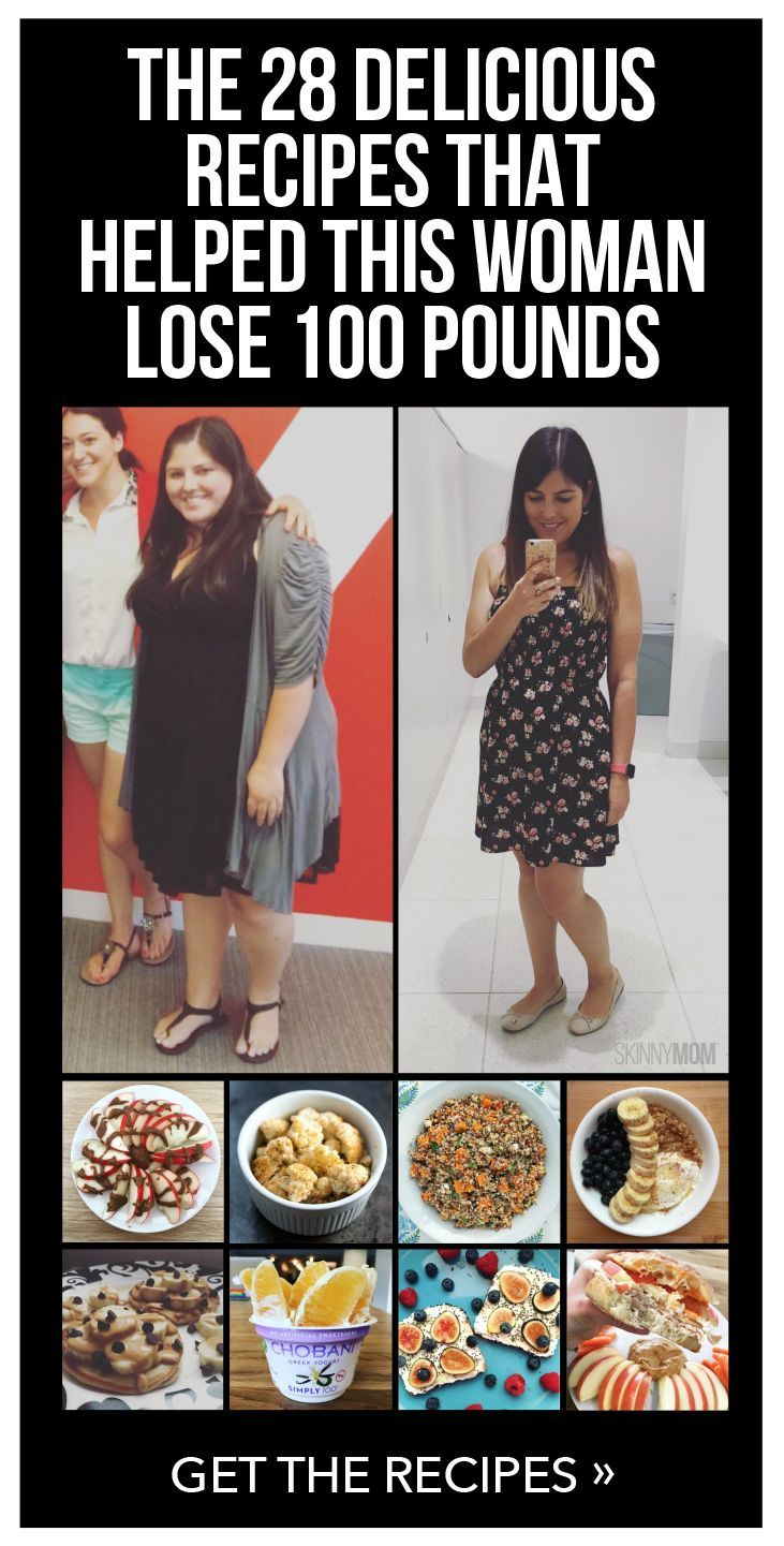 The 28 Healthy Recipes that Helped this Woman Lose 100 Pounds!