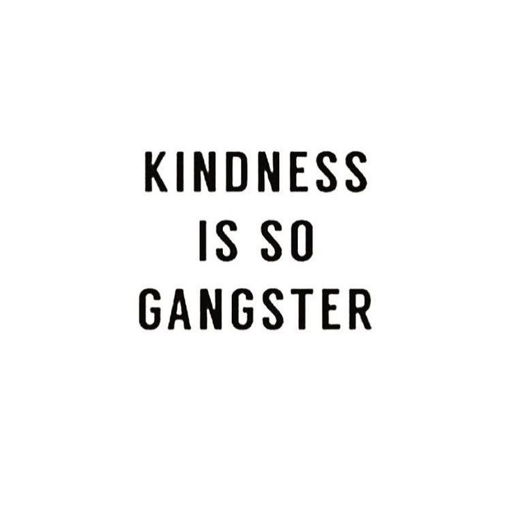 The definition of gangster #spiritualgangster #bekind