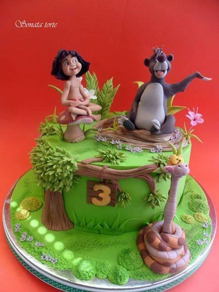 44 Best Disney S Jungle Book Cakes Images On Pinterest