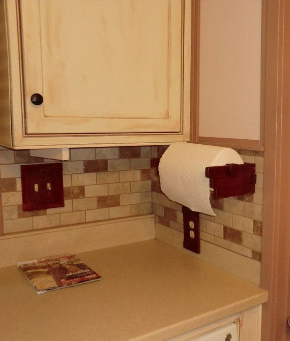 Craftsman style paper towel holder by PigeonHoleProducts on Etsy https://www.etsy.com/listing/205443157/craftsman-style-paper-towel-holder?ref=shop_home_active_1