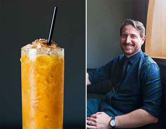 Anatomy of a Drink: Labu Kelapa Pouring Ribbons's New Cocktail Is Fall in a Glass