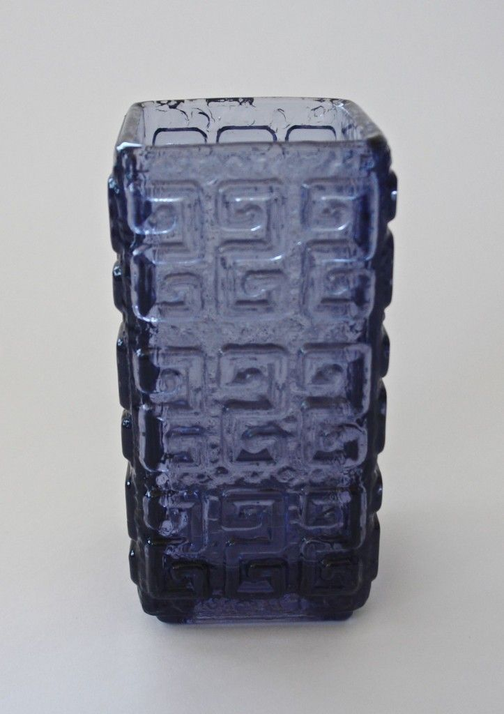 """Talaari"" vase by Tamara Aladin for Riihimaen Lasi, Finland c.1970's - midcenturymodern.co.za"
