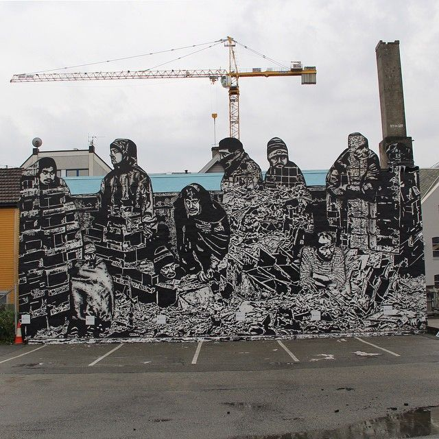 "Icy and Sot, ""homelessness"" for Nuart Festival 2014"