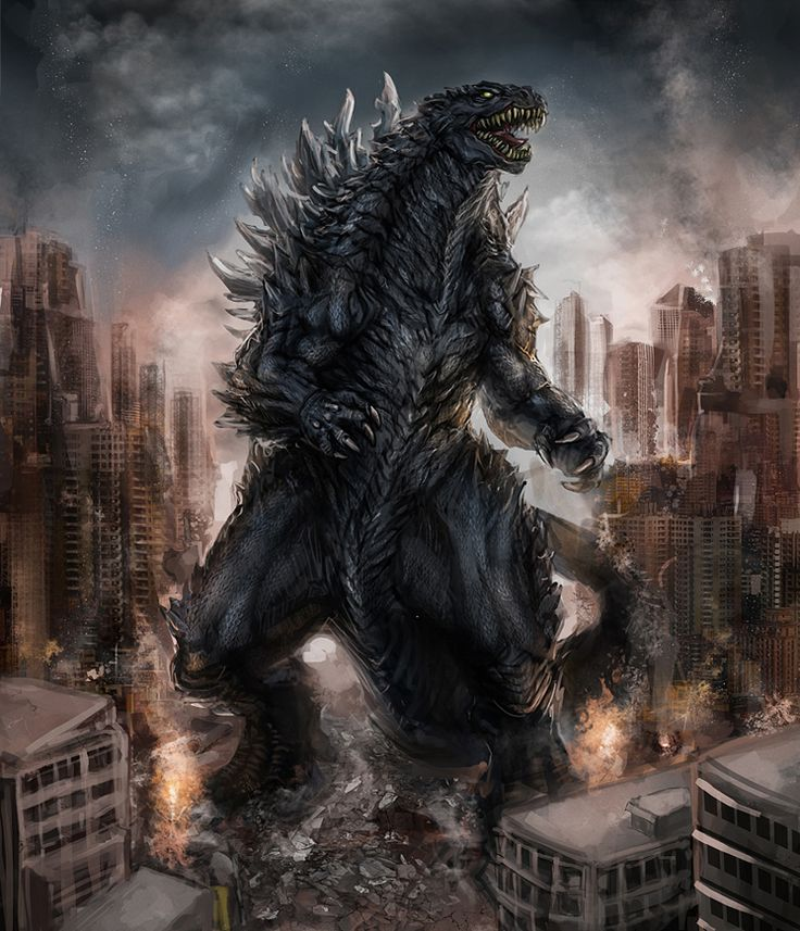 Awesome Collection of Godzilla Fan Art | Abduzeedo Design Inspiration