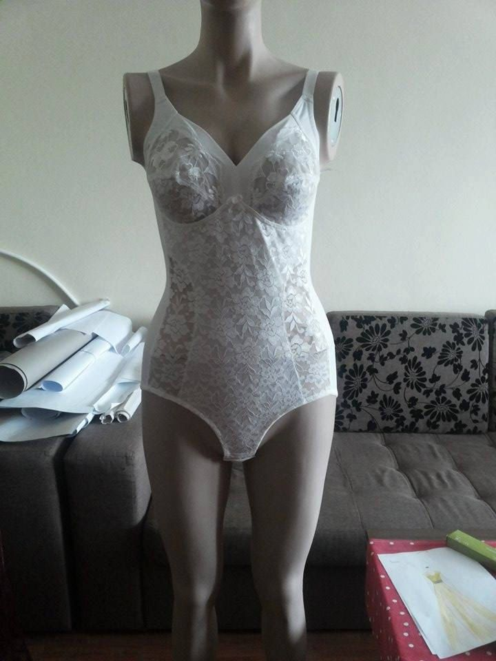 Vintage SPEIDEL Delicate Ivory Lace Body Lingerie, new, with tags by HerDressByClaudia on Etsy