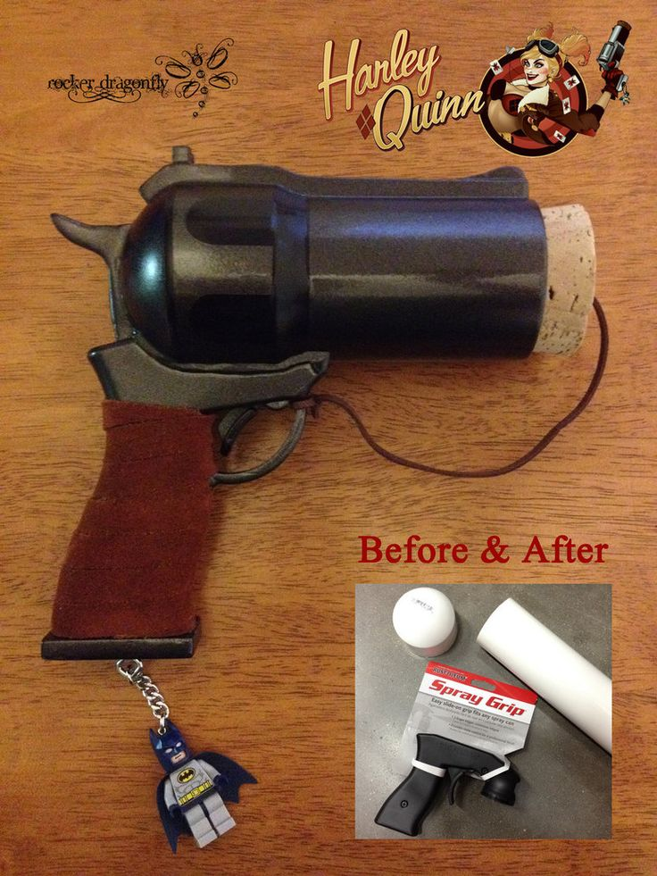 Harley Quinn Cork Gun by RockerDragonfly on deviantART. i really want this!!!