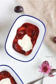 Himmlisches Zwetschgenkompott – das wohl einfachste Dessert der Welt – Raspberrysue