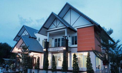 ผลงานบ้าน รับสร้างบ้าน บ้านประหยัดพลังงาน