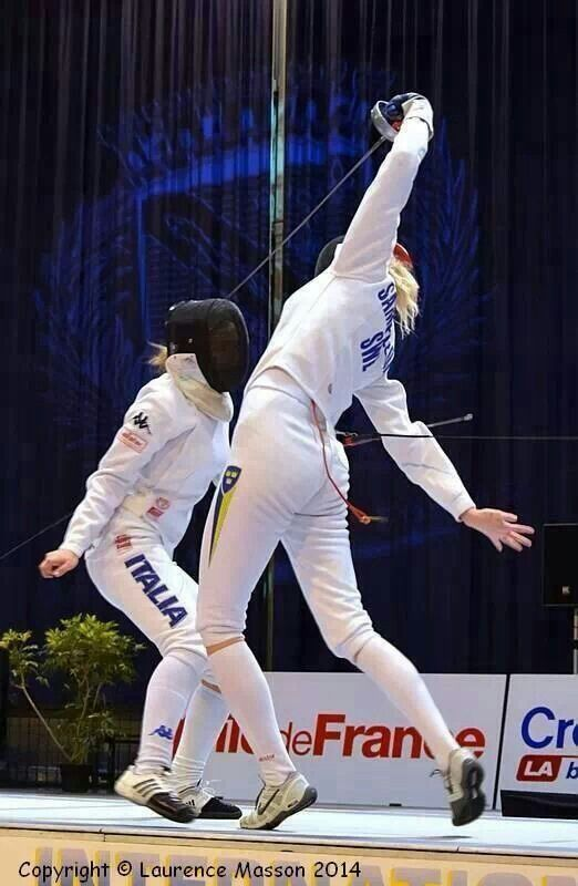 Touche #fencing #epee