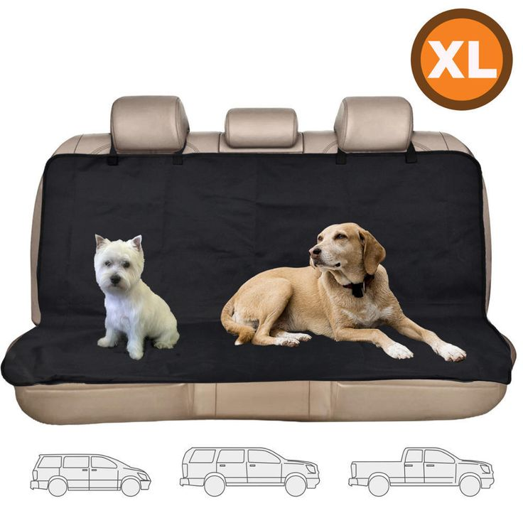 Dog Seat Cover XL Size Oxford Hammock Waterproof Seat Protection for Car Van SUV #BDK