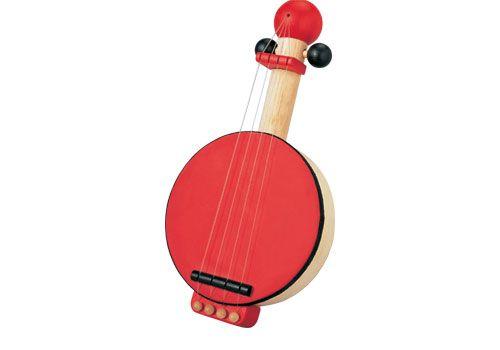 Plan toys Ξύλινο Μπάντζο 6411. Ένα όμορφο μπάντζο που θα διευκολύνει και θα βοηθήσει τα παιδιά να γνωρίσουν τους διάφορους ήχους.