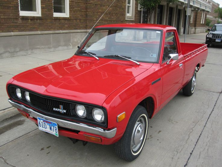 '78 Datsun 620 ... another clean rice-burner PU that looks ...