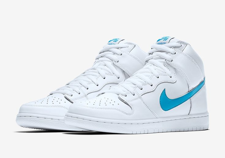 The Nike SB Dunk High Richard Mulder (Style Code: 881758-141) revitalizes a classic 2002 first series low inspired by the LA Dodgers. Available 5/11
