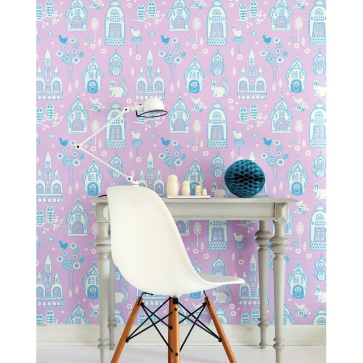 Palace Garden Wallpaper by Majvillan | Available from www.wallpaperantics.com.au