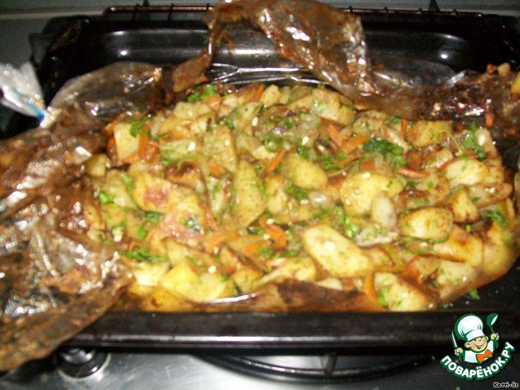 "Жареная картошка ""Хозяйка отдыхает"" ингредиенты"