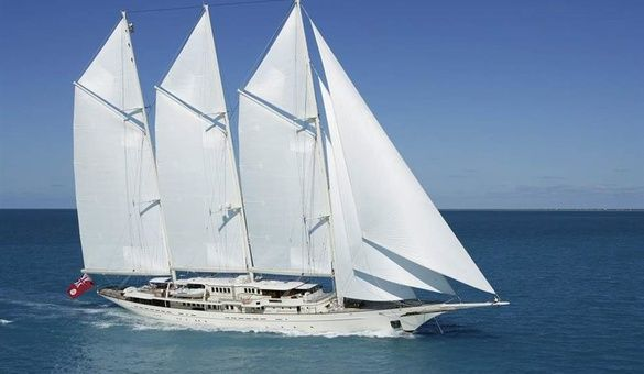 Athena Yacht for Sale Royal Huisman Sail Yacht #athena #royalhuisman…