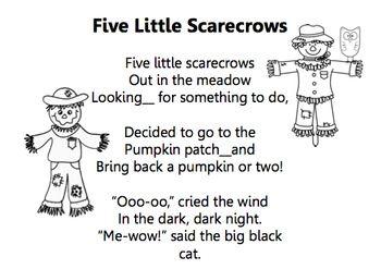 Five Little Scarecrows/Scarecrow Song/Halloween Drama