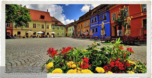 Sighisoara, Transylvania, Romania.