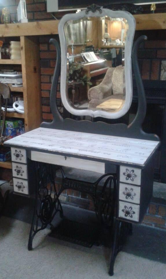 Best 25 Sewing Machine Cabinets Ideas On Pinterest