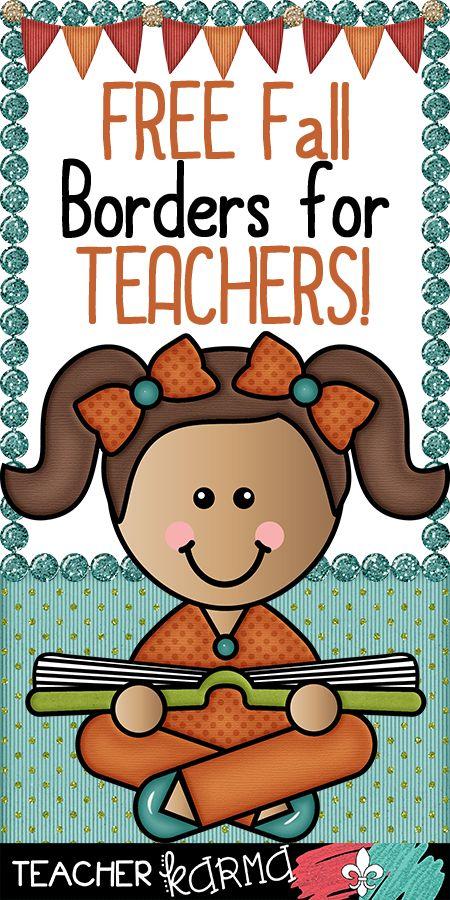 FREE clipart for teachers.  TeacherKARMA.com