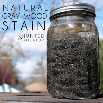 Easy Natural Gray Wood Stain  http://thehuntedinterior.blogspot.com/2012/02/natural-gray.htmlCrafts Ideas, Gray Stained, Diy Tutorial, Painting Brushes, Old Wood, Gray Wood Stained, Hunting Interiors, Nature Gray, Diy Projects