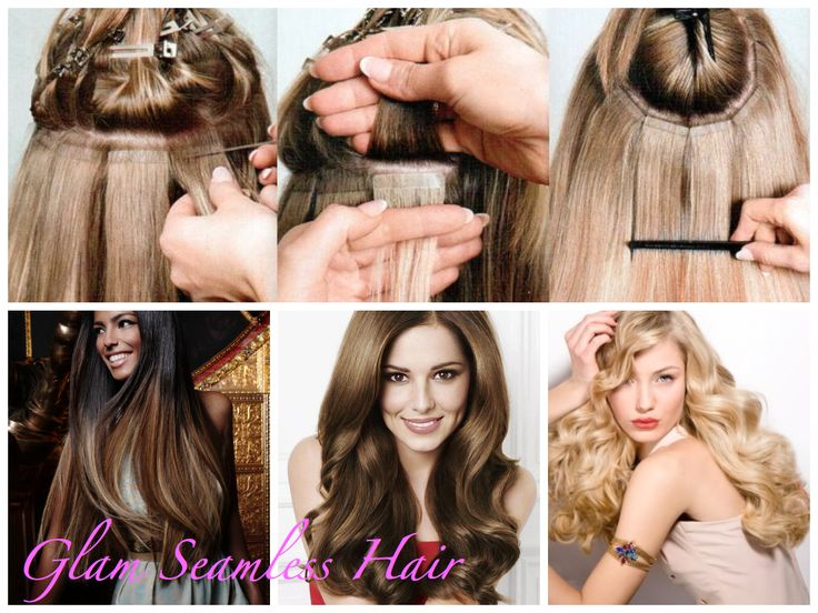 17 best glam seamless education images on pinterest salons tape in hair extensions the hottest trend of 2014 pmusecretfo Choice Image