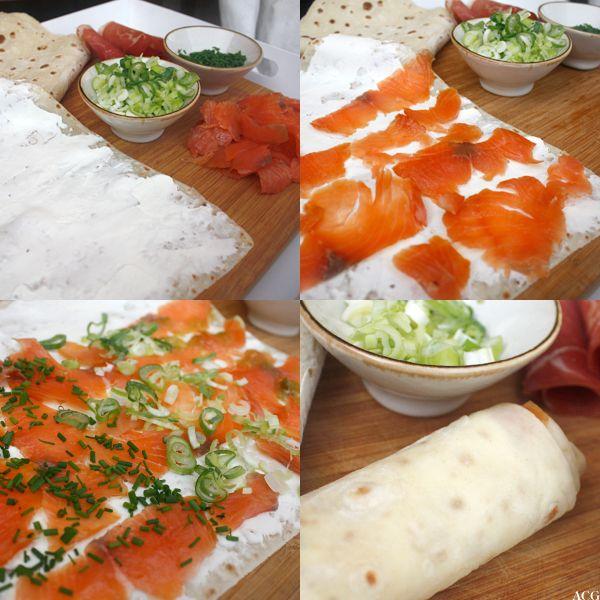laxrullar - Salmon rolls