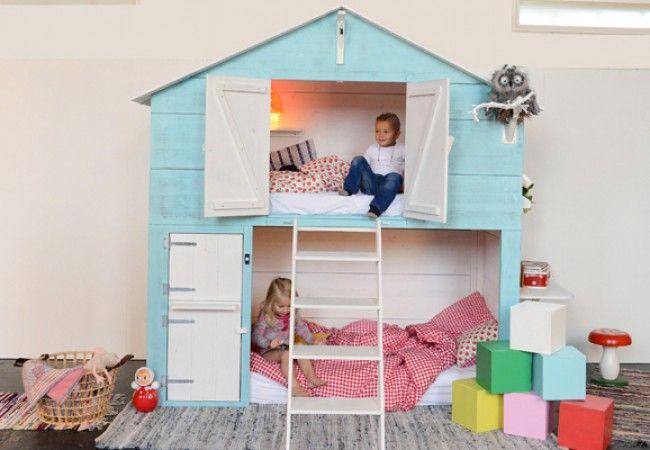 cama casita para jugar