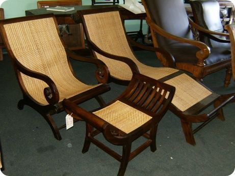 Rattan Plantation Chair