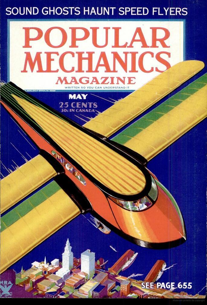 Cover of Popular Mechanics may 1934