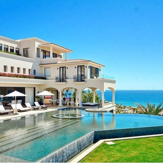 Big Beautiful Mansions With Pools best 25+ beach mansion ideas on pinterest | luxury beach homes