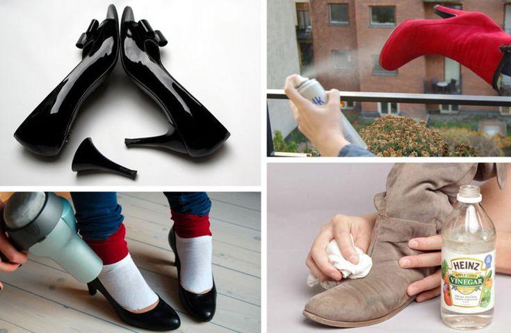Husmorsknep som räddar mocka, gör gula skor vita och räddar dig från fläckar