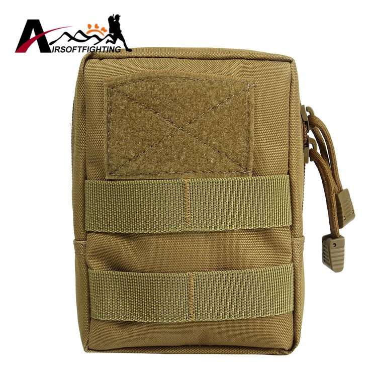 600D Molle Tactical Accessory Pouch EDC First Aid Waist Bag Outdoor Military Hunting Camping Utility Gear Tool Storage Bag Tan#