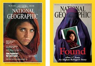 National Geographic returns to the Middle East to find the girl with the green eyes almost 20 years later.